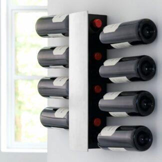 58249 Steel-Function Vinreol Til Væg 8 Flasker 1